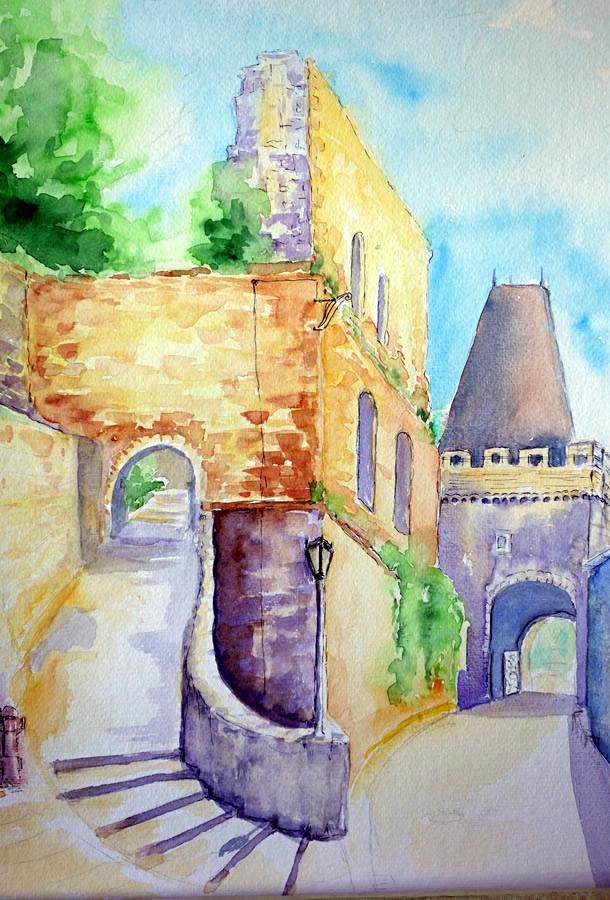 Burg in Dhaun