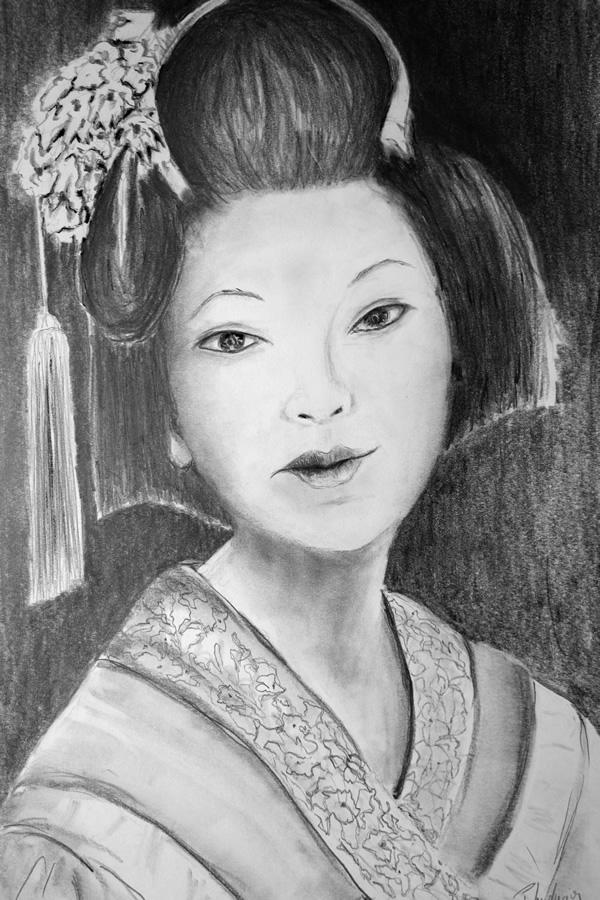 Kleine Japanerin