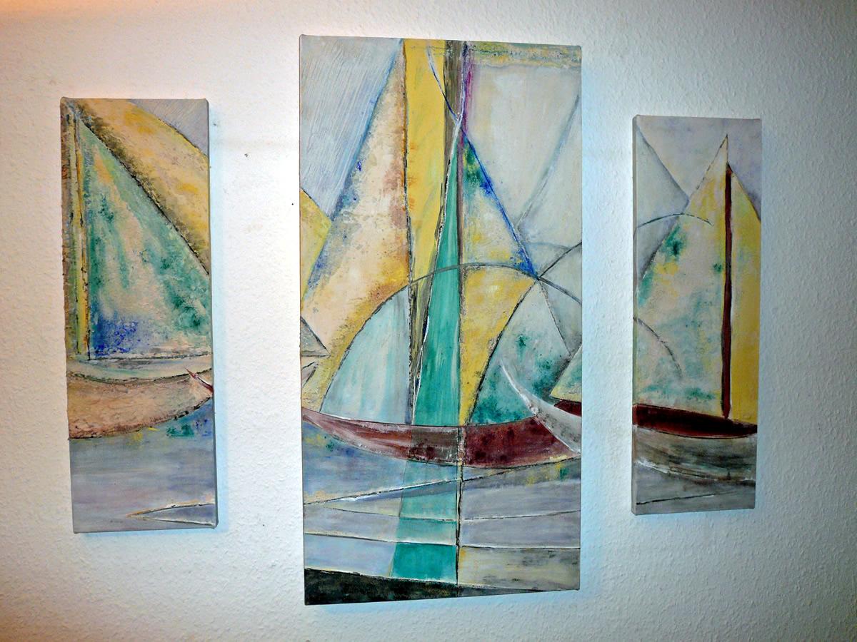 Seegelboote-Trilogie