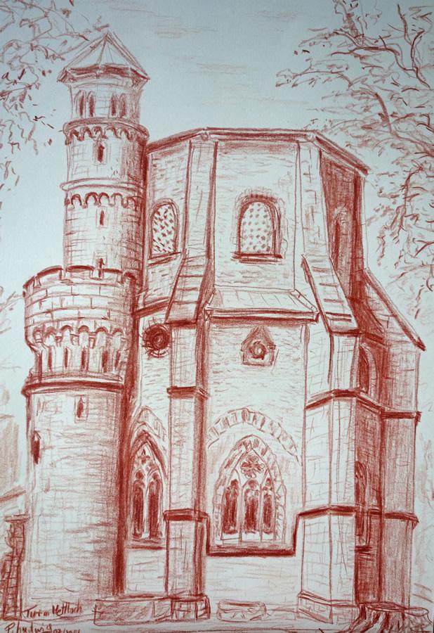 Turm in Mettlach 2